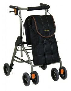 [幸和製作所] テイコブリトルボンベ WAW06 歩行器 歩行車 押し車 介護用 高齢者用 大人用 屋外用 歩行補助 リハビリ コンパクト 酸素ボンベ搭載可能 折りたたみ 病院 施設 自宅