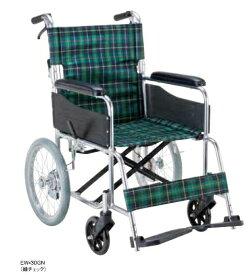 【法人宛送料無料】 マキテック 車椅子 介助式 EW-30 標準タイプ ノーパンクタイヤ仕様 折りたたみ リーズナブル 座幅42cm 耐荷重100kg MAKITECH