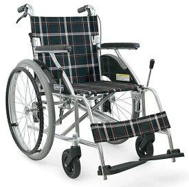 【法人宛送料無料】 [カワムラサイクル] KV22-40SB 車椅子 自走式 介助ブレーキ付 ノーパンクタイヤ仕様 リーズナブル 折りたたみ KAWAMURA
