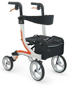 [カワムラサイクル] 屋内外両用歩行車 KW40 (抑速ブレーキ内蔵ホイール無し)