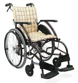 【法人宛送料無料】 カワムラサイクル 車椅子 自走式 WAVIT ウェイビット WA22-40S WA22-42S 標準型 折りたたみ 背張調整不要 ノーパンクタイヤ仕様 耐荷重100kg 座幅40/42cm 濃紺チェック/カフェモカ SGマーク KAWAMURA