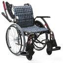 [カワムラサイクル] 自走用標準車いす WAVIT+ (ウェイビットプラス) WAP22-40S WAP22-42S (ノーパンクソフトタイヤ(…