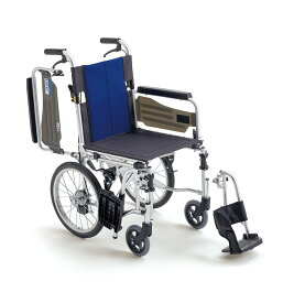 【法人宛送料無料】 ミキ 車椅子 介助式 BAL-4 多機能タイプ ノーパンクタイヤ仕様 肘掛跳ね上げ 脚部スイングアウト リーズナブル 折りたたみ 耐荷重100kg MiKi