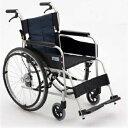 【法人宛送料無料】[ミキ] USG-1 車椅子 自走式 標準タイプ ノーパンクタイヤ仕様 リーズナブル 折りたたみ 耐荷重100…
