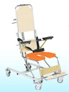 [睦三] シャワーキャリー AL II (ツー) AL2 No.5400 車椅子 入浴用 お風呂用 シャワー用 浴槽用 リクライニング式 介助式 安全ベルト付 病院 施設 デイサービス MUTSUMI