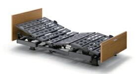 [パラマウントベッド] 電動ベッド Q-AURA クオラ KQ-63330 介護ベッド リクライニングベッド 3モーター レギュラーサイズ 91cm幅 木製ボード らくらくモーション 背あげ 膝あげ 高さ調節 PARAMOUNT BED