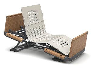 [パラマウントベッド] 電動ベッド 楽匠Z 3モーション 木製ボード ハイタイプ 91cm/83cm幅 レギュラー/ミニサイズ KQ-7333 KQ-7313 KQ-7323 KQ-7303 介護ベッド リクライニングベッド ラクリアモーション