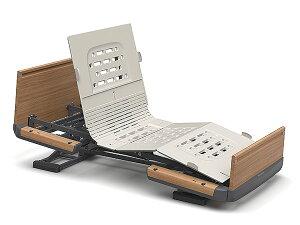 [パラマウントベッド] 電動ベッド 楽匠Z 2モーション 木製ボード 91cm/83cm幅 レギュラー/ミニサイズ KQ-7232 KQ-7212 KQ-7222 KQ-7202 介護ベッド リクライニングベッド ラクリアモーション 背あげ 高さ