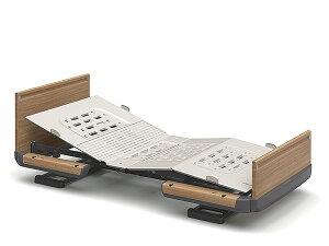 [パラマウントベッド] 電動ベッド 楽匠Z 1モーション 木製ボード 91cm/83cm幅 レギュラー/ミニサイズ KQ-7132 KQ-7112 KQ-7122 KQ-7102 介護ベッド リクライニングベッド 背あげ 背・膝連動 PARAMOUNT BED