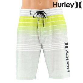 【Hurley】20インチ PHANTOM PETERS ストライプ メンズ ボードショーツ S/M/L/XL