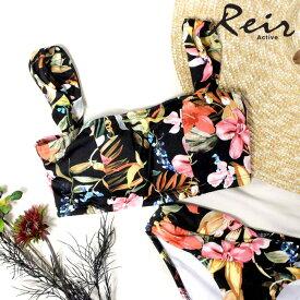 【SALE】 【Reir】【YOGA】花柄 トップス 9号/11号 水着 みずぎ ミズギ トップス レディース水着