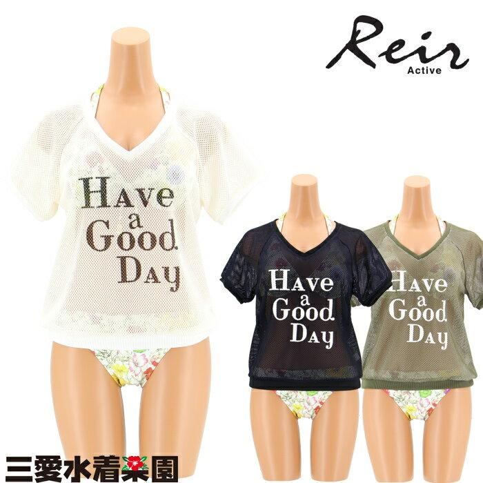 【Reir】メッシュ Tシャツ M 水着 みずぎ ミズギ Tシャツ レディース水着 小胸さんも安心