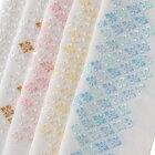 ポリエステル紋衿花菱刺繍半衿ポリエステル袷用和装小物半衿刺繍衿日本製