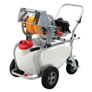 ES-50T 工進エンジン式 噴霧器50Lエンジン動噴ガーデンスプレーヤータンクキャリー 1連ピストン ES-50T