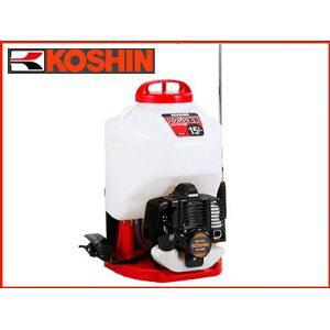 消毒・除草用 15Lエンジン動噴カスケード式(低圧)ガーデンスプレーヤー工進 背負式エンジン噴霧器 ES-15C