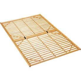 ベッドフレーム/シングル/籐すのこベッド/シングルサイズ ロータイプ Y910 Y-910