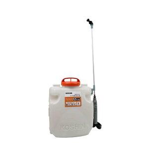 工進 充電式噴霧機噴霧器背負式除草剤 防虫急速充電器・バッテリー付きSLS-7