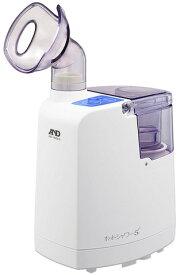 ホットミスト 吸入器A&D エー・アンド・ディ【口鼻両用】加湿器超音波温熱吸入器 ホットシャワー5 ブルーUN-135 B