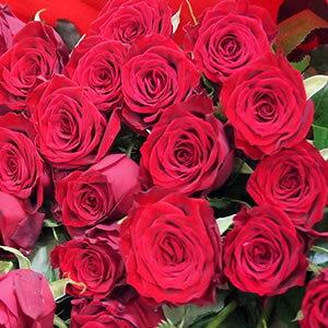 2020年4月【月間優良ショップ受賞】赤バラ【本数指定で赤バラの花束】一本【生花】「年齢の数だけ」販売プレゼント 告白 深紅バラ花束≪大輪品種≫バラ1本 プロポーズ 記念日結婚記