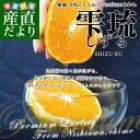 愛媛県より産地直送 JAにしうわ 三瓶共撰プレミアムみかん しずる(雫琉) SからLサイズ 約5キロ(40から60玉)…