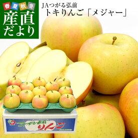 青森県より産地直送 JAつがる弘前 弘前のりんご メジャー トキ 3キロ (小玉 13玉入り) 送料無料 リンゴ りんご 林檎 送料無料