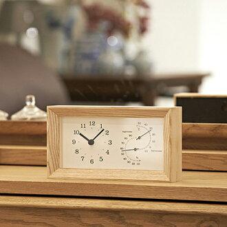 FRAME frame-hygrometer with clock