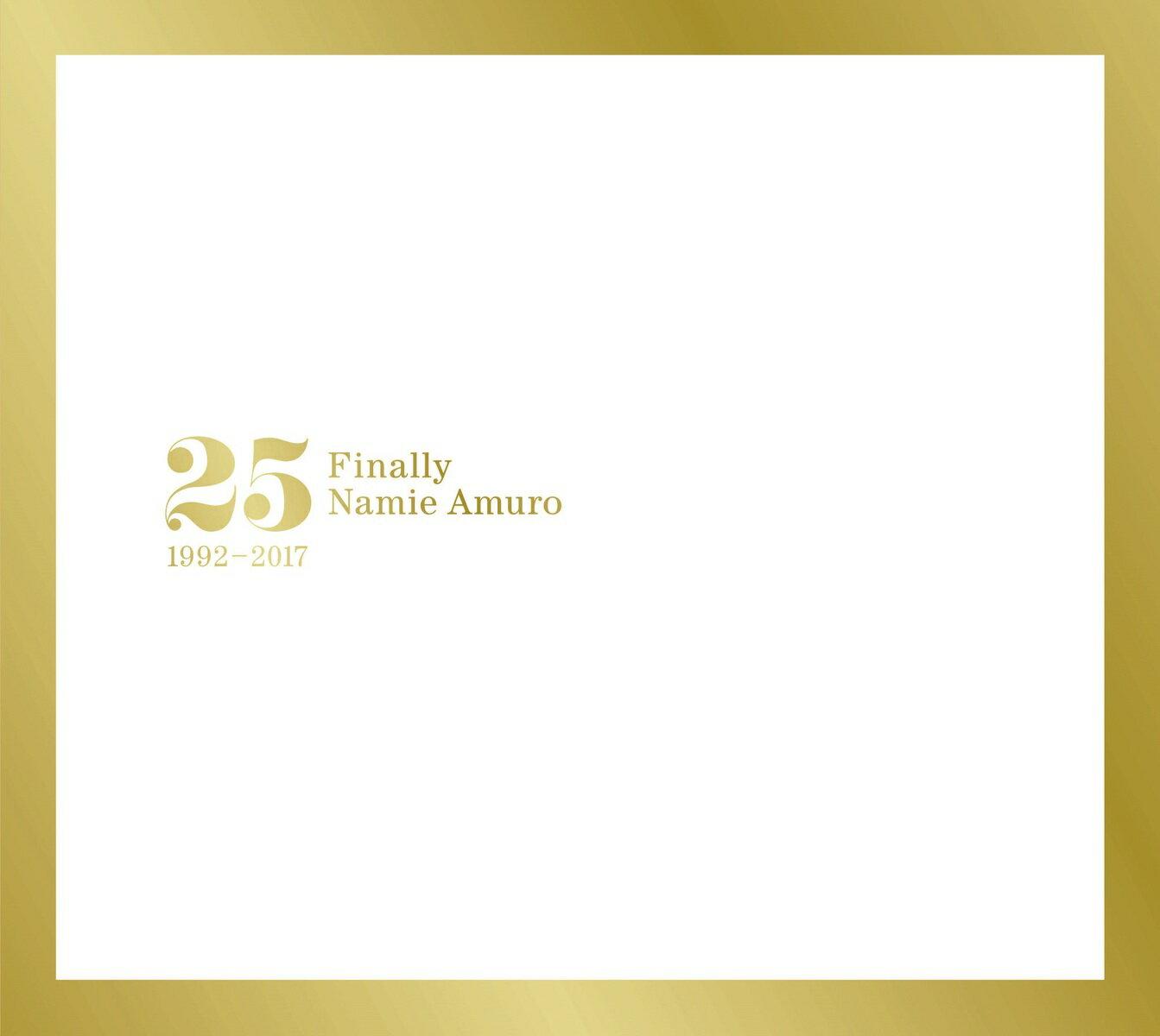 安室奈美恵 / Finally[CD][3枚組]【2017/11/8発売】初回盤BOXスリーブ仕様