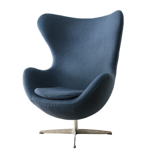 【デザイナー:アルネ・ヤコブセン】商品名:Egg chair(エッグチェア)【リプロダクト・ジェネリック】【椅子】【ソファ】【アームチェア】【回転式】【デザイナーズ家具】【楽天】【セブンチェア】【ファブリック】
