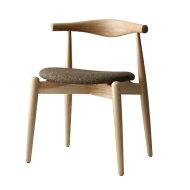 【選べる3色☆5種】【デザイナー:ハンス・J・ウェグナー】商品名:ELBOCHAIRROUND(エルボチェア・ラウンド)premium【高品質リプロダクト・復刻版】【ダイニングチェア】【椅子】【北欧】【天然木】【Yチェア】