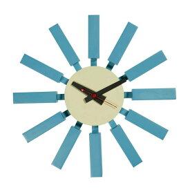 【デザイナー:ジョージ・ネルソン】商品名:Block clock(ブロック・クロック)【リプロダクト/復刻版】【05P28may10 】【P28may10 新規店 】【お買い物マラソン06】【tokubai0525】