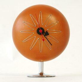 【デザイナー:ジョージ・ネルソン】商品名:Pill clock(ピル・クロック)【リプロダクト/復刻版】【ネルソンクロック】【デザイナーズ】【卓上】【時計】【オブジェ】【ミッドセンチュリー】【木製】【名作】