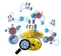 水素イオン液が酸化を防ぐ