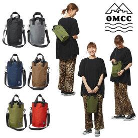 【即納/送料無料】OMCC ドラムバッグ ショルダー トートバッグ 巾着 3WAY ボディバッグ おしゃれ かわいい カラフル フェス イベント アウトドア 撥水 サブバッグ