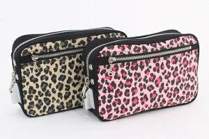 【バッグ 鍵つき】帆布アニマルポーチSE-1錠(キー2枚)海外旅行 貴重品入れ ミニバッグ パスポート入れ 旅行収納バッグ バッグインバッグ