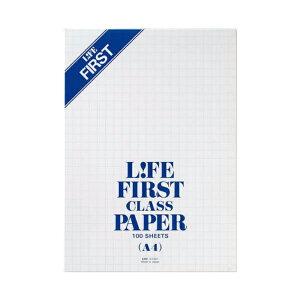 LIFE レポート用紙 ファースト A4 G1301【ライフ】【10mm方眼罫】