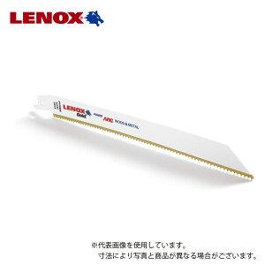 【LENOX】チタンコーティングゴールドブレード(5枚入り) / セーバーソーブレード / 全長200mm×幅19mm×刃厚1.3mm / 山数10T / 21065-810G 【切断工具 / 先端工具 / レシプロソー・電動ノコギリ刃】