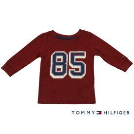 Tommy Hilfiger(トミーヒルフィガー) 85プリントTシャツ(DarkRed)