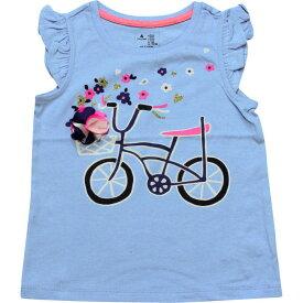 BABY GAP(ベビーギャップ) フラタースリーブサイクルTシャツ(Blue)