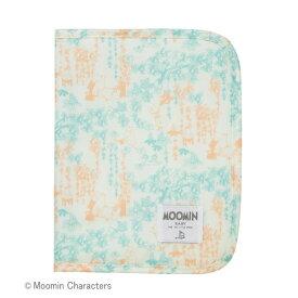MOOMIN BABY(ムーミンベビー) 母子手帳ケース/ファミリーガーデン/ライトブルー
