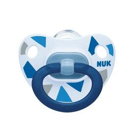 NUK(ヌーク) おしゃぶりハッピーデイズ(消毒ケース付)/6-18カ月/トライアングル