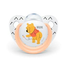 NUK(ヌーク) おしゃぶり(消毒ケース付)/0-6カ月/くまのプーさん/オレンジ