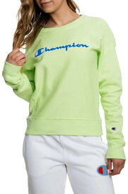 Champion チャンピオン 衣類 トップス LIFE Women's Reverse Weave Crew Chilled Mint Green 2XL