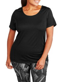 Active アクティブ 衣類 トップス Women's Plus Size Cross Back Performance Tee