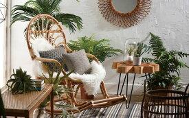 ラタン ロッキングチェア イス 椅子 チェア ロッキング 籐 ラタン リビング アジアン 自然 天然素材