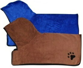 犬 バスローブ ペット 犬用 バスローブ 犬 用 ドライヤー バスローブ 犬 ペットローブ 速乾 超吸水 ペット用タオル マイクロファイバー 犬猫 調整可 柔らかいタオル 体拭き お風呂ローブ 選べるサイズ