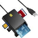 ICカードリーダー マイナンバー対応 確定申告 マイナンバー sdカードリーダー 多機能 USB接続 高速データ転送 国税電…