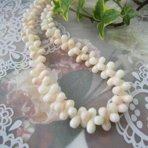ミッド珊瑚のネックレス/ダンベル/天然サンゴ・さんご/G.SILVER/『宝石サンゴ』
