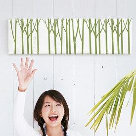 ファブリックパネル 北欧 インテリア アート パネル 北欧 グリーン おしゃれ ファブリックボード 木製 ウォールデコ キャンバス サンサンフー フォレスト88x25