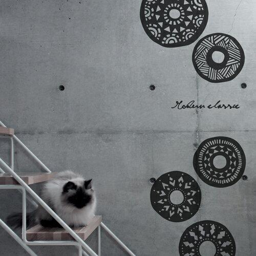 ウォールステッカー 【モダンクラシック】 はがせる 壁 窓 リフォーム 北欧 転写 リビング 壁シール wallsticker インテリアシール カフェ ナチュラル 寝室 モダン サンサンフー