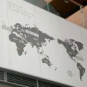 ウォールステッカー 【トラベルマップ】 はがせる 壁 窓 リフォーム 北欧 転写 リビング 壁シール wallsticker インテリアシール 動物 …